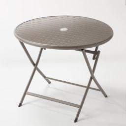 アーバンガーデン テーブル&チェア ラウンド 大 3点セット ラウンドテーブル