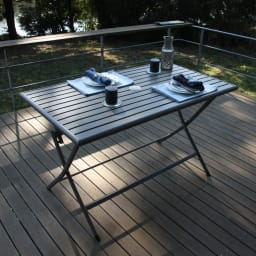 アーバンガーデン 長方形テーブル お届けは長方形テーブル単品です。