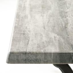 g-STYLEテーブル&チェア コンクリート調5点セット ニュアンスある質感で空間をモダンシックに引き締めるストーン調。草花とも調和します。