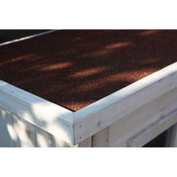 木製薄型収納庫 高さ160cm