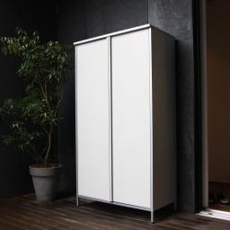 ガルバ製物置 レギュラータイプ 幅91.5高さ168cm
