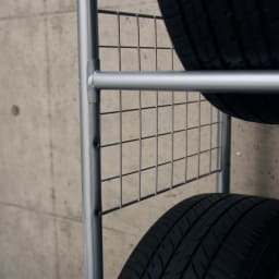 伸縮式タイヤラック ラックのみ
