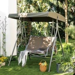 屋根付きスウィングベンチ 替え布 交換用の屋根の替え布のみの販売です