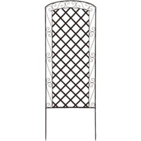 アイアンラティス柄フェンス 高さ170cm 4枚組 写真