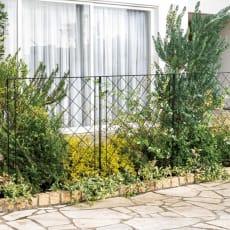 境界線に!ガーデンフェンス 3枚セット