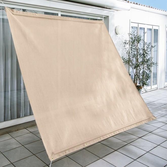 サマーオーニング タープ 約200×300cm (ア)アーバングレー  UVカット率…約89%