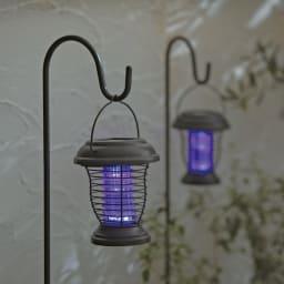 虫対策ソーラーライト2個組 2個組 UV球
