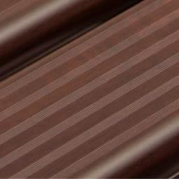 木目調アルミデッキ縁台&ステップ お得なセット 0.75坪セット (ウ)ダークブラウン