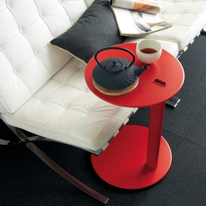 Tender テンダー イタリア製サイドテーブル(calligaris カリガリス社製) レッド
