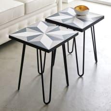 Arrow/アロー ポルトガル製モザイクテーブル[temahome]