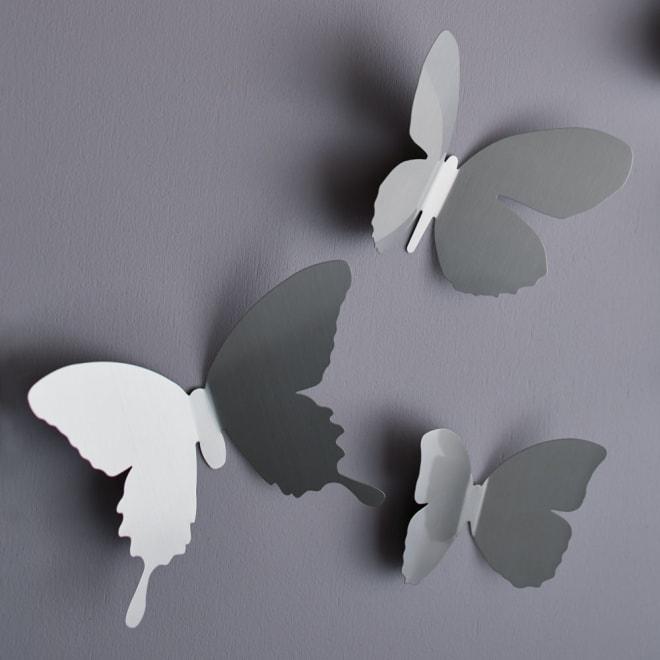 umbra/アンブラ デコレーション マリポサ ウォールデコ ニッケル