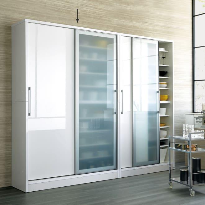 Fons フォンス キッチン収納 スライドボード 幅140cm お届けの商品はこちらになります。