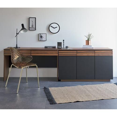AlusStyle/アルススタイル 薄型ホームオフィス デスク 幅120.5cm 画像