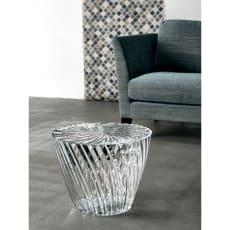 Kartell Sparkle カルテル スパークル イタリア製 サイドテーブル (デザイン・吉岡徳仁)