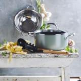 GREEN PAN/グリーンパン シリーズ キャセロール/両手鍋(ガラス蓋付き) 写真