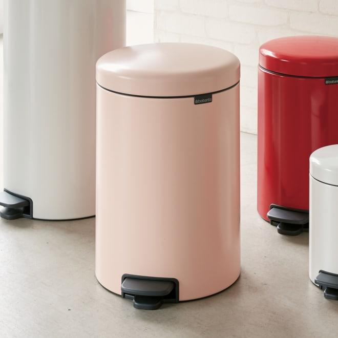 brabantia/ブラバンシア ダストボックス カラー 容量20L ピンク