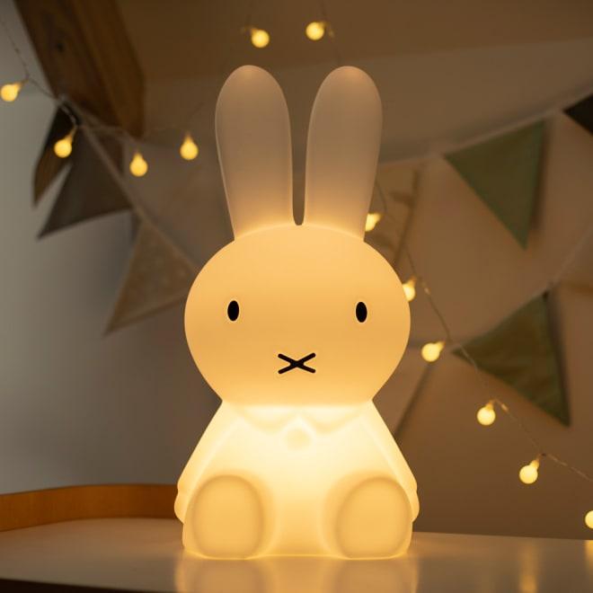Mr.Maria miffy/ミスターマリア ミッフィー ルームライト ミッフィオリジナルランプ やさしい光を放つ、ミッフィーオリジナルランプ。