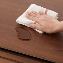 AlusStyle/アルススタイル 隙間収納 ロータイプ(高さ85.5cm) ロータイプの天板は水切れがよく汚れに強いメラミン化粧板。