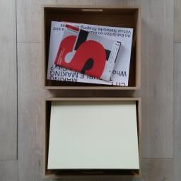 A4ファイルが入るマルチワゴン 沢山の書類が入ります!