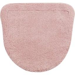 クッショニーフタカバー単品 ピンク ※お届けはフタカバー単品です。フタカバーとマットは素材が異なるため、多少色目に差異がございます。