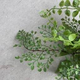 アレンジメントスワッグ グリーンミックス 柔らかで涼しげな小さい葉っぱがさわやかなアジアンタム。