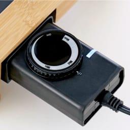 PRINCESS/プリンセス テーブルグリルピュアミニ 最大約250℃まで、ダイヤルで温度調節。