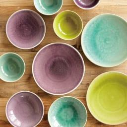 Jars デザートプレート TOURRON 深みのある華やかな発色は、ジャスならではの特徴です。