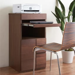 Sabio/サビオ リビング家電収納 キャビネット 幅44cm パソコンデスクとしてお使いいただくのもおすすめ