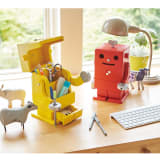Robit&Pico / ロビット&ピコ ピコ卓上収納ロボ 写真