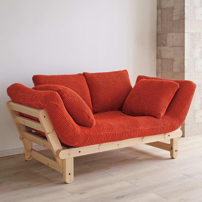 スペイン製 Karup/カーラップ FutonII/フートン ソファベッド専用カバー オレンジ