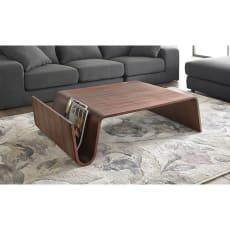 Poski/ポスキ デザインリビングテーブル ウォルナット