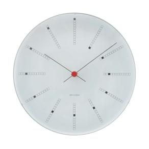 ARNE JACOBSEN/アルネヤコブセン 壁掛け時計 バンカーズ 径29cm 写真