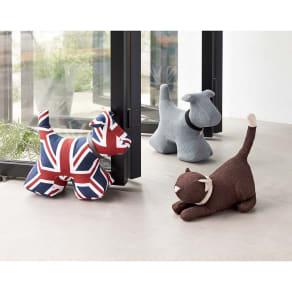 モニカリチャードロンドン ドアストッパー ドッグ/犬 写真