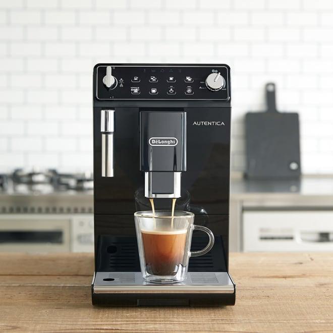 デロンギ オーテンティカ 全自動コーヒメーカー 【DeLonghi AUTENTICA/ETAM29510B】【金利・手数料ディノス負担の特別ローン】 デロンギ史上、最もスリムな全自動コーヒーマシーンです。