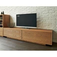 格子リビングシリーズ テレビボード 幅199.5cm