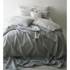 French Linen/フレンチリネン カバーリング マルチカバー メランジ 写真