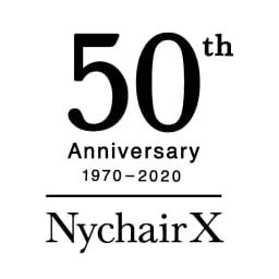 50周年限定 Nychair X ニーチェア エックス オットマン [Takeshi Nii/デザイン:新居猛] ニーチェア誕生50周年、デザイナーの新居猛生誕100周面を記念した限定モデルです。