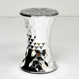 Stone/ストーン スツール クローム [Kartell・カルテル/デザイン:マルセル・ワンダース] ラグジュアリーなインテリアアクセサリーです