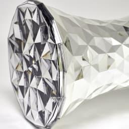 Stone/ストーン スツール クローム [Kartell・カルテル/デザイン:マルセル・ワンダース] 底面は内側の塗装がありません
