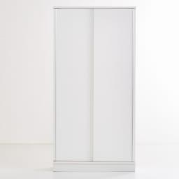 Clair/クレール 引き戸サニタリー収納庫 幅90cm (イ)ホワイト