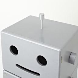 ROBIT/ロビット 収納ロボ[ete・えて ] 頭頂部