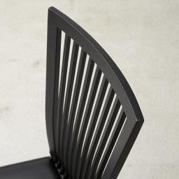 5点セット Connubia/コヌビア 伸長式テーブル+Philadelphiaチェア4脚  テーブル幅130cm(伸長時190cm) チェア背面部分アップ
