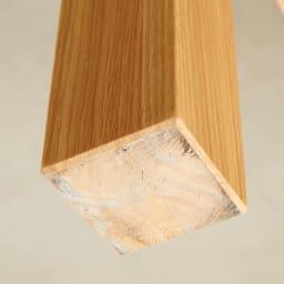 伸長式テーブル 幅130~215cm Vilske/ヴィルスク 伸長式ダイニングシリーズ 脚部下 (可動しない方の脚)