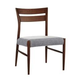 4点セット(チェア2脚・ベンチ1脚) kolmio/コルミオ ダイニングシリーズ テーブル幅150cm×85cm (イ)ダークブラウン チェア