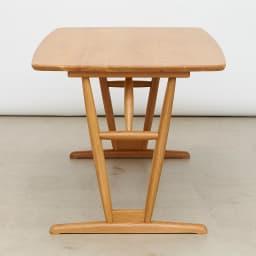 テーブル 幅150cm kolmio/コルミオ ダイニングシリーズ テーブル 縦から