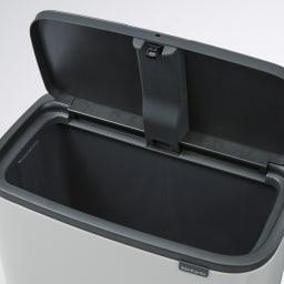 brabantia/ブラバンシア ダストボックス Boタッチビン ラグジュアリー 「1分別」容量:36L ごみをまとめて入れられる大容量タイプ。