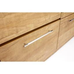 Cretty/クレッティ ステンレス天板 ナチュラルモダンキッチン収納 カウンター幅80cm