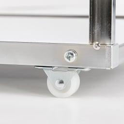 Prop/プロープ キッチン横 ステンレススリム作業台 幅30cm 前後方向に動くキャスター付きで、出し入れも簡単です。
