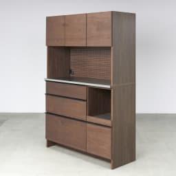 Lana/ラナ ステントップボード・キッチンボード 幅120cm ウォルナット