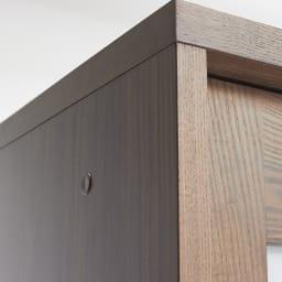 NexII ネックス2 天然木キッチン収納 キャビネット 幅100cm 角の仕上げまでこだわった日本製の食器棚です。